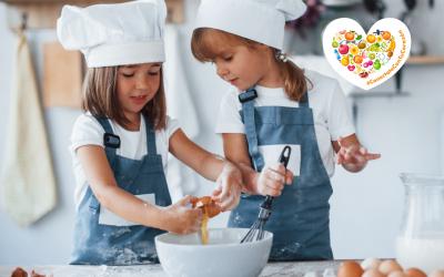 ¡Estas vacaciones de Setiembre las disfrutamos cocinando en familia!